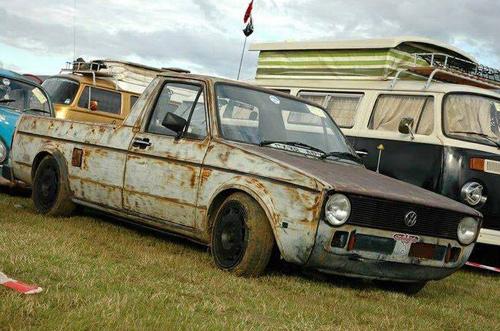 Um Caddy veterano da guerra